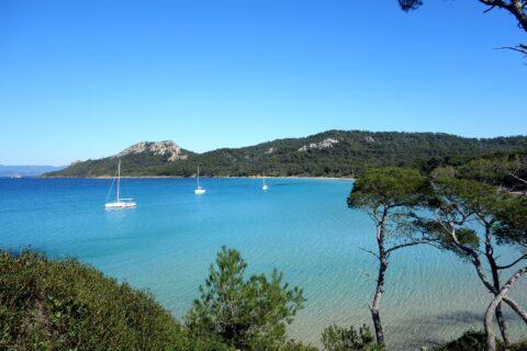 Die Inseln Iles d'or : Porquerolles / le levant / Port Cros