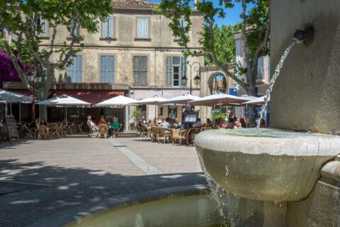 Ein Dorf aus der Provence