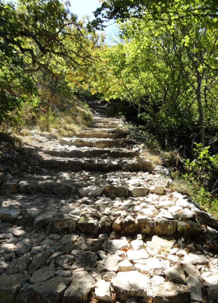 Montee de la Sainte-Baume