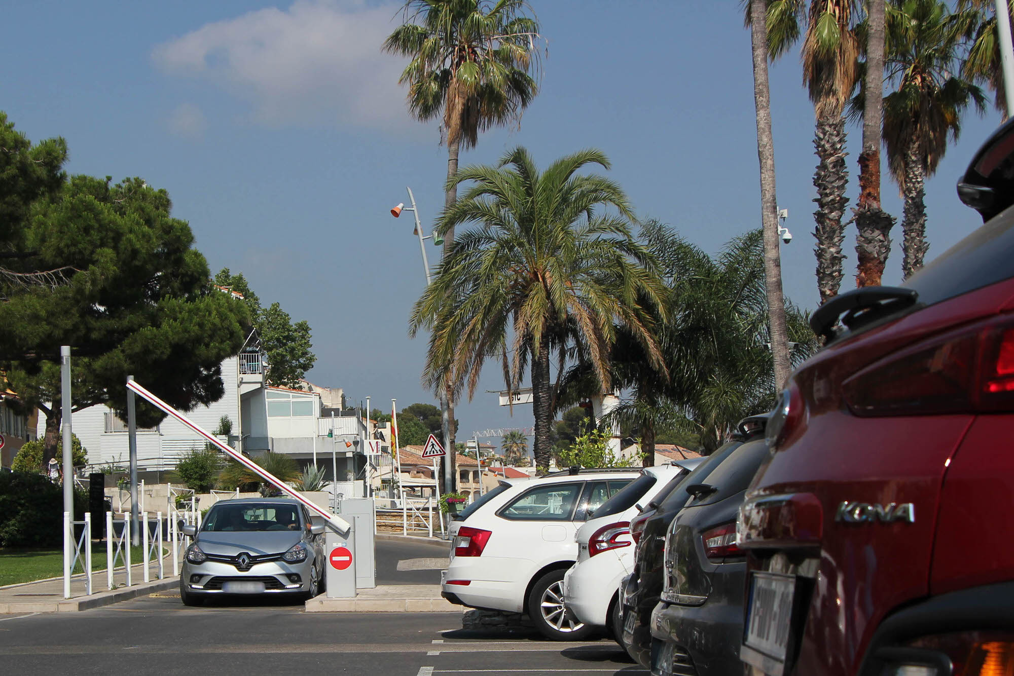 Les parkings de Saint-Cyr-sur-Mer