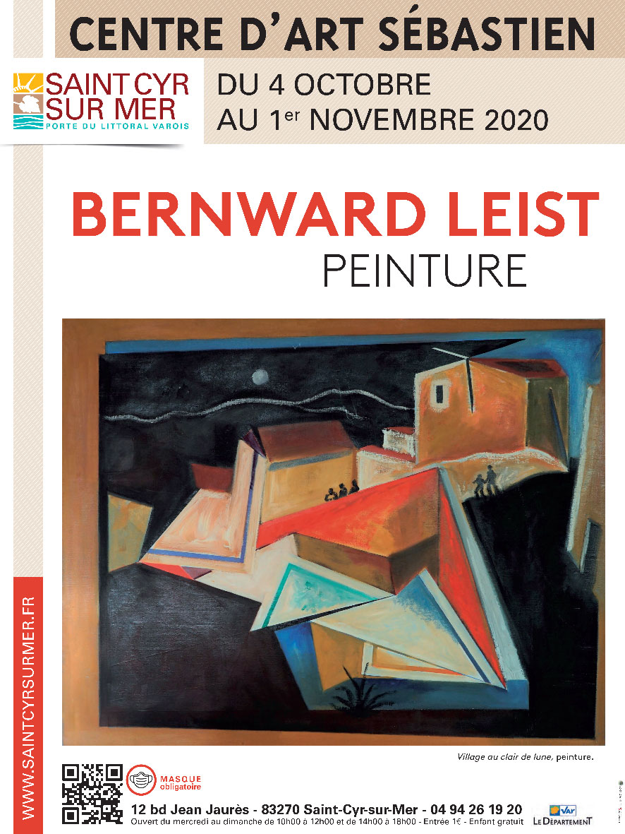 Discover the Bernward Leist exhibition at the Center d'Art Sébastien