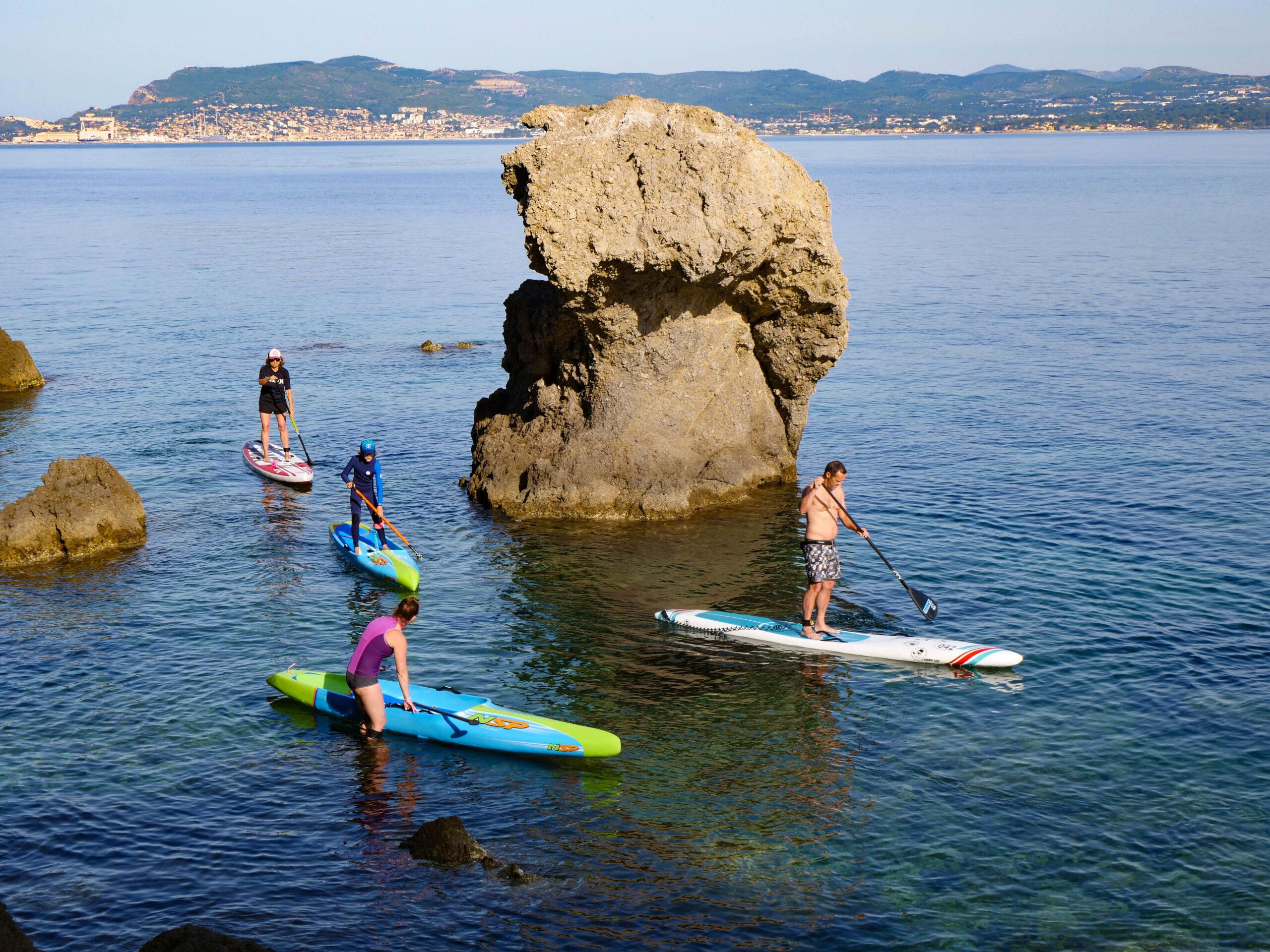 Sortie en paddle à la Madrague