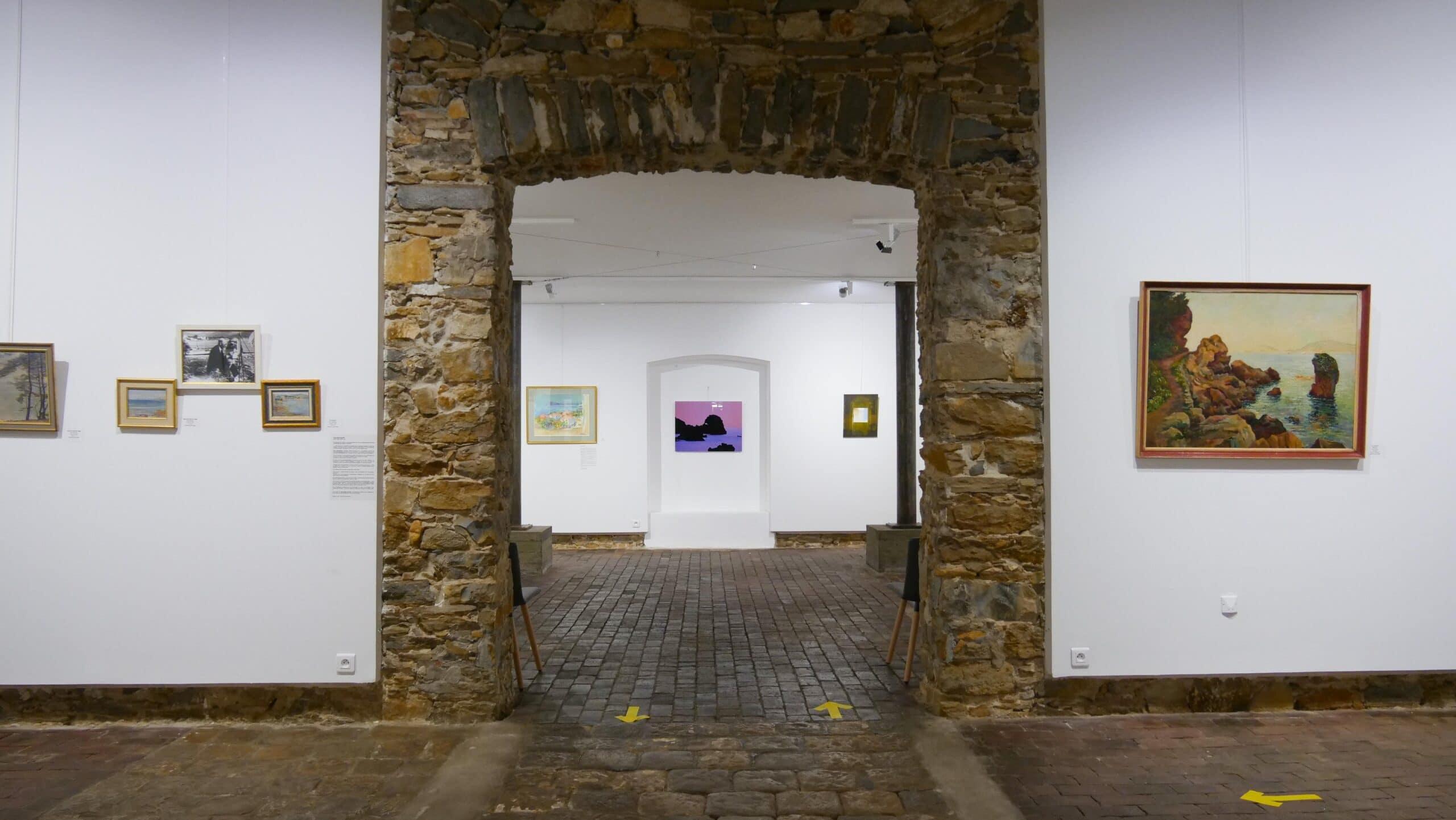 Salle d'exposition du centre d'art Sébastien